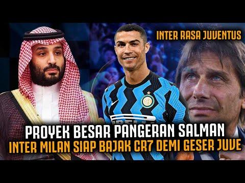 CR7 SIAP KE INTER MILAN 😭‼️  Kans Inter Rasa Juve, Proyek Pangeran Salman Beli Cristiano Ronaldo