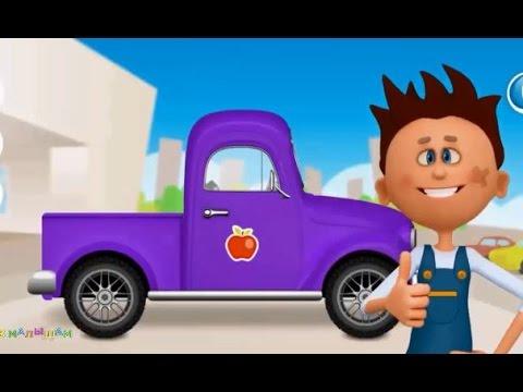 Машинки мультфильм. Развивающий мультик для детей ...