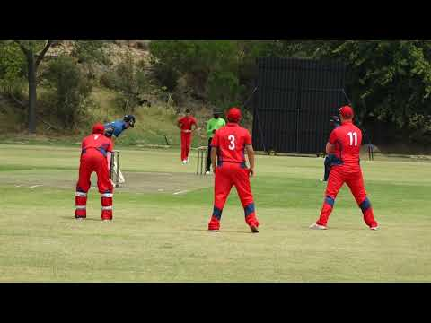 Action from Cricket South Africa's U19 Cubs Week, Stellenbos