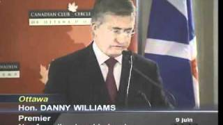 Danny Williams Bashes Quebec
