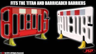Titan Barriers Anti-Trip Foot from JSP Ltd