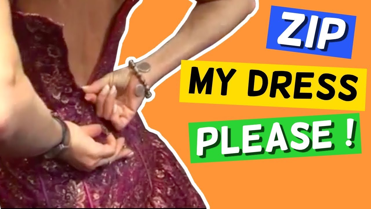 Zip My Dress PLEASE! | Hilarious Prank in Public | Funny Fail Compilations