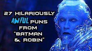 "27 Hilariously Awful Puns From ""Batman & Robin"""
