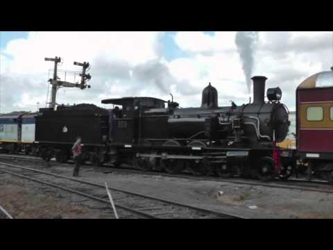 CANBERRA RAILWAY MUSEUM EASTER STEAM.PART 1.