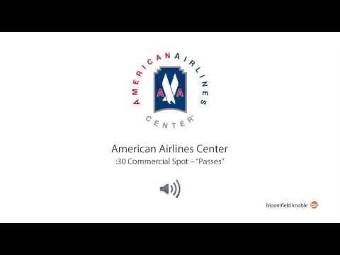 "American Airlines Center -- ""Passes"" (:30 Radio Spot)"
