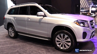 2017 Mercedes Benz GLS Class GLS 450 4Matic - Exterior Interior Walkaround - 2017 Chicago Auto Show