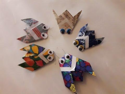 cicala origami lavoretto per il primo giorno di scuola