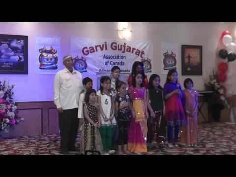 Gujarati Speech by Garvi Gujarat Kids