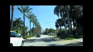 № 242 США Русские Sunny Isles Florida  дорога на Майами 2010