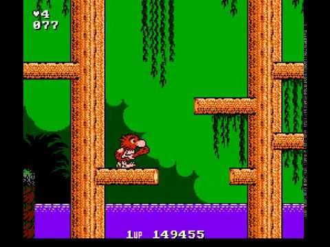 Big Nose the Caveman — Nintendo Game Walkthrough {NES} {HD 60 FPS}
