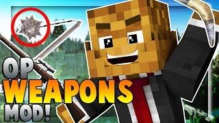 OP WEAPONS (ANCIENT WEAPONS MOD) - Minecraft Balkans Weapon Modded Battle