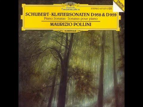 Franz Schubert-D.959 Andantino-Piano Sonata No.20 in A major,Maurizio Pollini