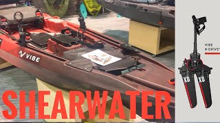 2019 Vibe Shearwater 125 - Pedal Paddle Jet Motor