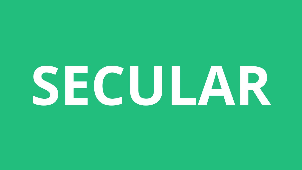 essay on a secular state secular