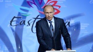 Трансляция 360: Владимир Путин выступает на ВЭФ во Владивостоке