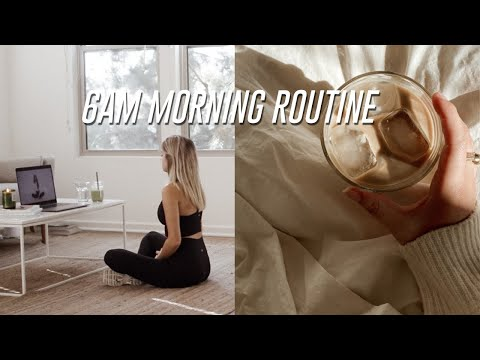 My Productive & REALISTIC 6am Morning Routine for College