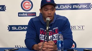 Cubs Shortstop Addison Russell Discusses Domestic Abuse Suspension
