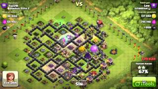 Lee [ istanblue ] vs Tuzz91 [ Kaskus Elite 2 ] Clash Of Clans