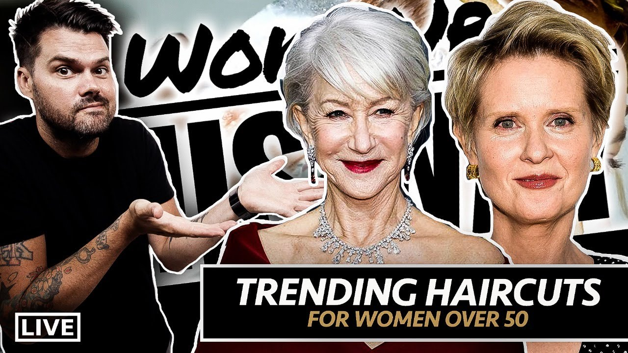 🔴 Haircut Trends for Women 50+ 9-21-20 12pm EST | Woke Up This Way 060 #HairShow