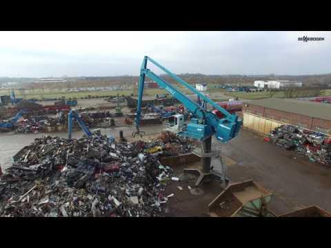 SENNEBOGEN 8130 EQ Balancer - Feeding Shredder - Company Scholz Recycling - Germany