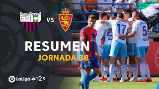 Resumen de Extremadura UD vs Real Zaragoza (0-3)