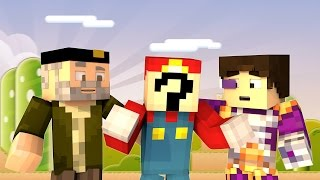 Minecraft | EL NUEVO MARIO BROS!! c/ Vegetta | Minijuego BUILD BATTLE