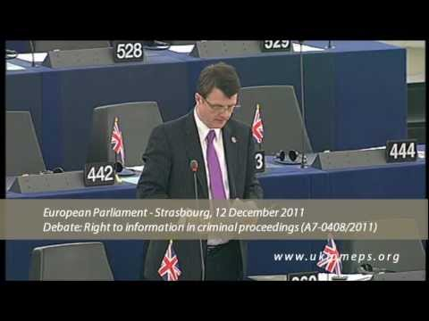 Subjects of European Arrest Warrant have no meaningful rights - Gerard Batten