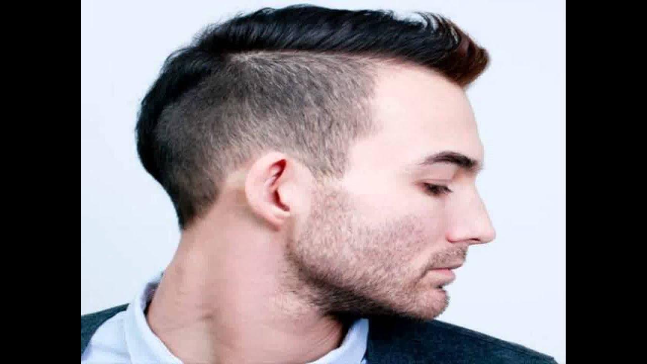 gaya rambut pria wajah lonjong - youtube