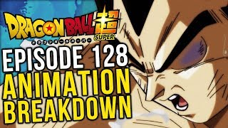 The Black Eyed Prince! Episode 128 Animation Breakdown - Dragon Ball Super