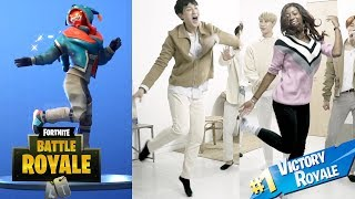 K-POP IDOL FORTNITE DANCE CHALLENGE