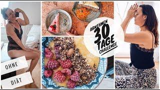 LANGFRISTIG ABNEHMEN OHNE DIÄT. 30 TAGE CHALLENGE. Was ist Intuitive Ernährung? Anfängertipps