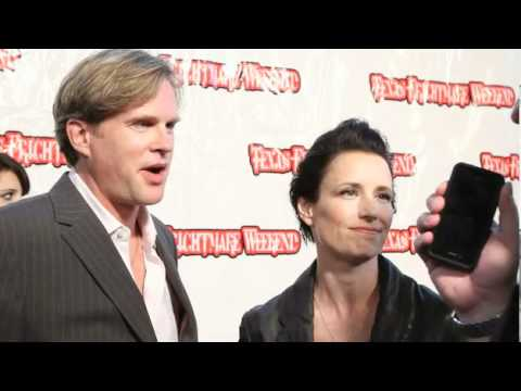 SAW Cary Elwes, Shawnee Smith, Costas Mandylor at Texas Frightmare Weekend 2011 red carpet