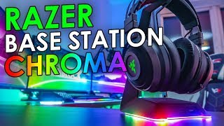 Razer Base Station Chroma Unboxing & Overview
