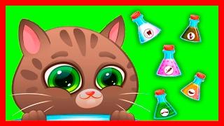 КОТЕНОК БУБУ #16. МОЙ ВИРТУАЛЬНЫЙ КОТИК - BUBBU MY VIRTUAL PET - мультик игра видео для детей.