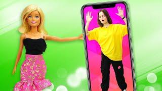 Кукла БАРБИ Видеоблогер Что хотят от Barby подписчики Смешные видео Игры одевалки для девочек