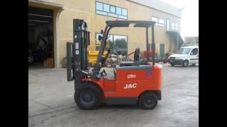 Электрический погрузчик JAC CPD25 г/п 2,5т на 4,5м