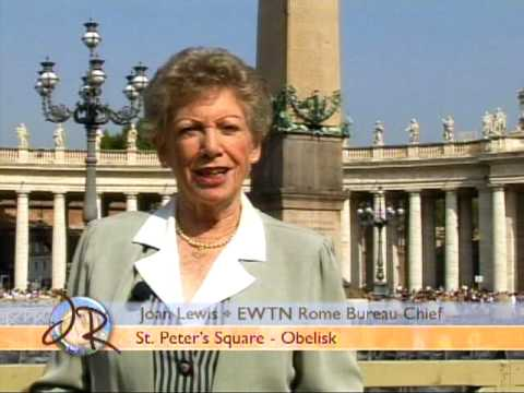 Joan's Rome - St. Peter's Square Obelisk