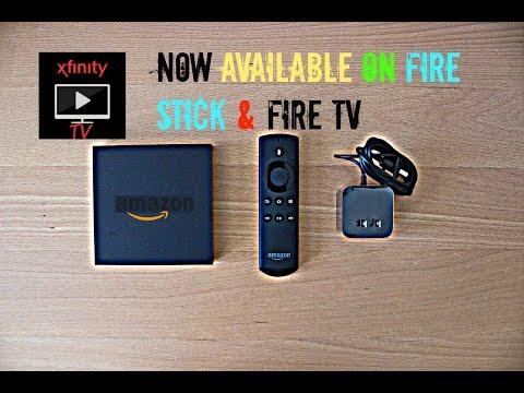 ( XFINITY TV ) WORKING ON ( FIRE TV ) & ( FIRE STICK )
