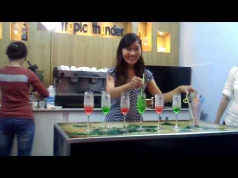 Pha chế Soda - Gu Cafe.com