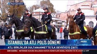 İstanbul'da atlı polis dönemi