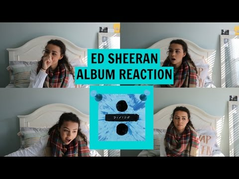 ED SHEERAN'S DIVIDE ALBUM REACTION | ADIYANNA
