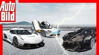 Sportwagen-Battle, Teil 2 (Genf 2019) - Koenigsegg, Bugatti, Aston Martin & Co