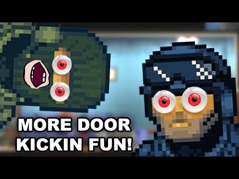 SPECIAL RECON POWERS ACTIVATED! – Door Kickers: Action Squad (Steam Release Co-op)