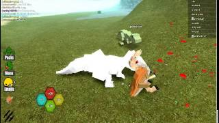 The life an Albino TRex, In ROBLOX!!!!!!