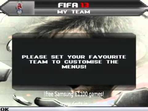 Samsung E1100 Games free download!
