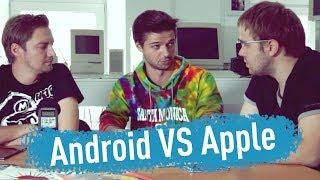 Ios Vs. Android - спор длящийся годами... Feat. Droider