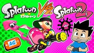 Splatoon VS Splatoon 2  ¿CUAL ES MEJOR?  Wii U o Nintendo Switch   Abrelo Game