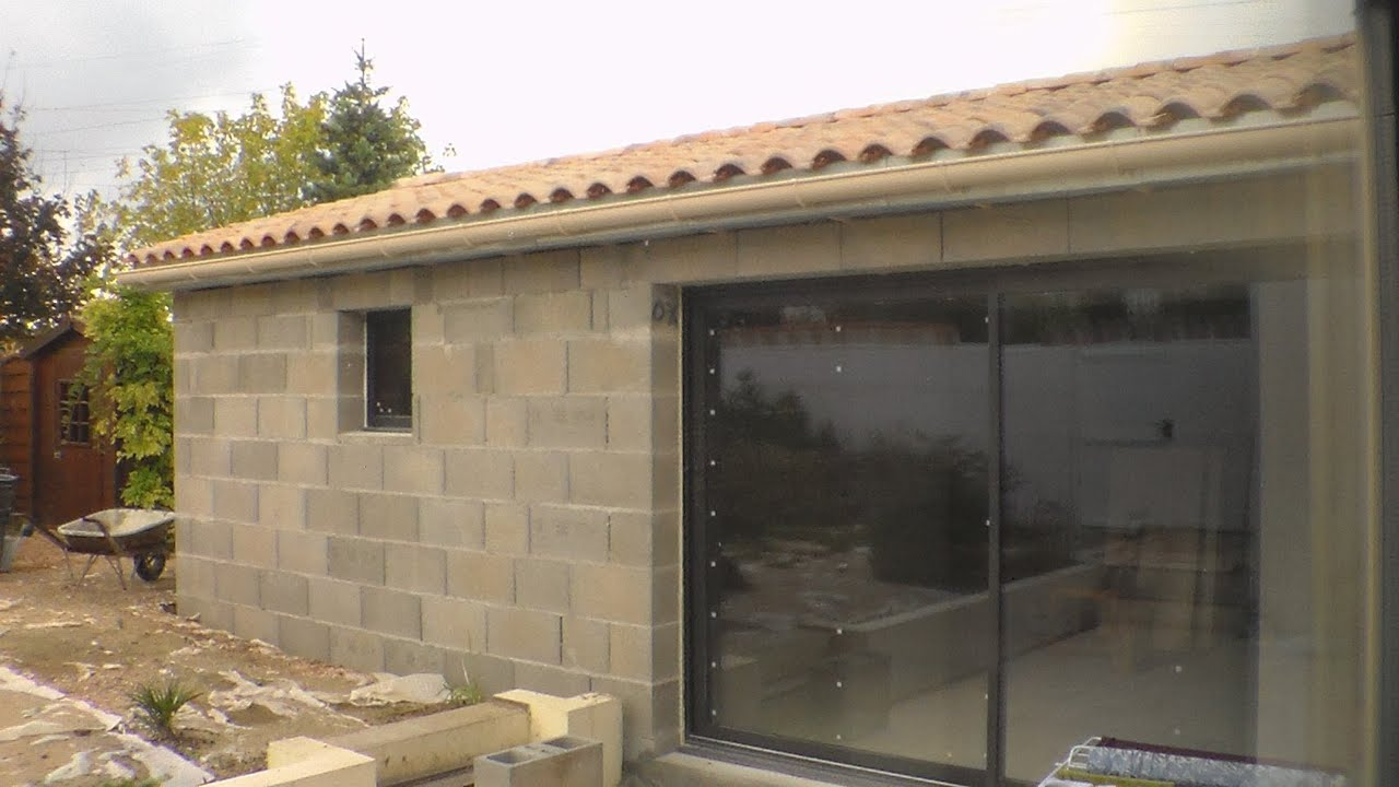 Comment faire une toiture how to make a roof youtube for Toiture de garage