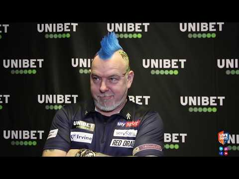 """Peter Wright: """"I want to see MVG at his best so I can beat him at his best later on in the final!"""""""
