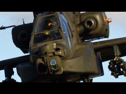 FANTASTIC ARMS DEMONSTRATION! (Apaches, Paladins, Abrams, Bradleys and Black Hawks!)